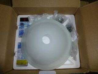 Hampton Bay 2 Light Ceiling Fan Light Kit 406358