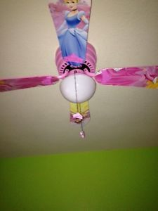 Disney princess ceiling fan aloadofball Image collections