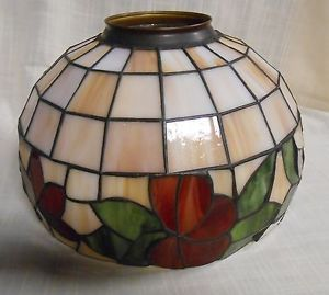 Ceiling Fan Replacement Stained Glass Globe Light Or
