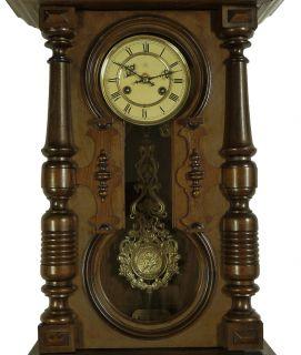 Beautiful Antique German Wall Clock at 1900