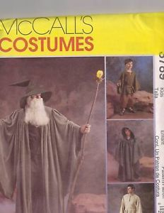 McCalls Wizards Hobbit Costume Pattern 3789 Kids 3 8