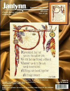 Web of Life Cross Stitch Kit Native American