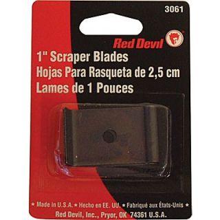 Red Devil Single Edge Scraper Blade, 1 inch