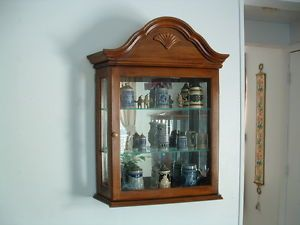 ... Pulaski Furniture Wall Mount Or Mantel Curio Cabinet ...