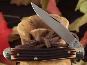 Queencutlery Winterbottom 51 Mini Trapper w 2 PC Box Case Knife Knives