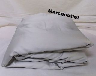 Hotel Collection 600 Thread Count Egyptian Cotton Queen Fitted Sheet Nickel