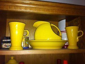 Fiestaware Large Pitcher China & Dinnerware