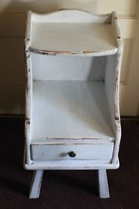 Ethan Allen Vintage Night Stand Table Distressed