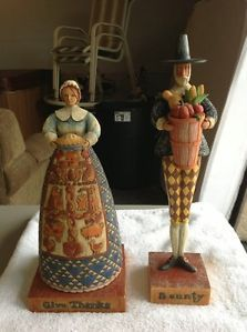 Jim Shore Collectible Fall Figurines