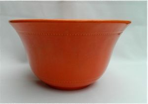 Hall Radiant Ware Bowl Pottery Orange Fiesta Colors