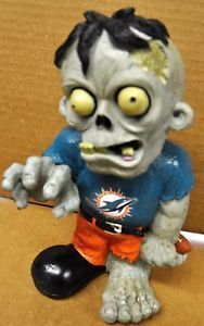 Miami Dolphins Zombie Decorative Garden Gnome Figure Statue New NFL