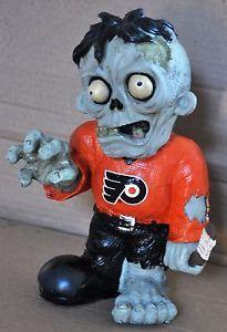 Philadelphia Flyers Zombie Decorative Garden Gnome Figure Statue New NHL