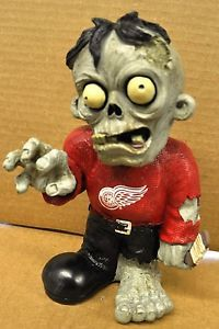 Detroit Red Wings Zombie Decorative Garden Gnome Figure Statue New NHL
