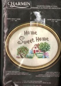 Charmin Counted Cross Stitch Kit Home Sweet Home 6 x 7""