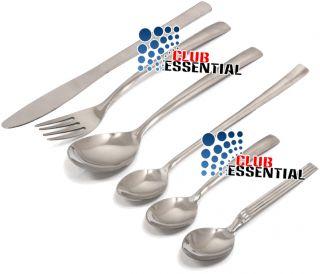 Stainless Steel Cutlery Dinning Tableware Spoons Knives Forks Teaspoon