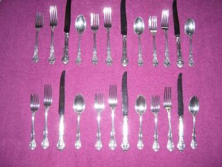 Gorham King Edward Sterling Silver Flatware