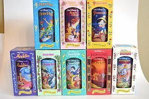 Lot of 12 Disney Burger King Collectible Drinking Glasses Cups