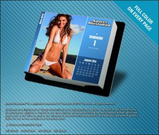 Sports Illustrated Swimsuit Kate Upton 365 Day at A Time Desk 2014 Calendar Box