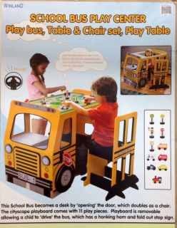 Photos of school bus on popscreen - School bus table and chair ...