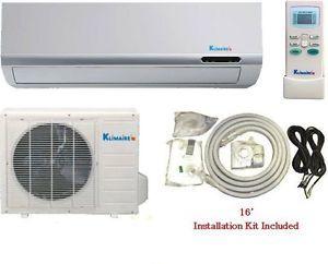 12000 BTU HR DC Inverter 15SEER Mini Split Ductless Heat Pump Air Conditioner