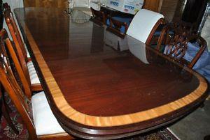 Ethan Allen Mahogany Large Conference Table 12 ft Long 144 inch Retail $8000