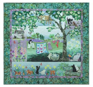 Wind in The Whiskers McKenna Ryan Pine Needles Quilt Cat Choose Pattern