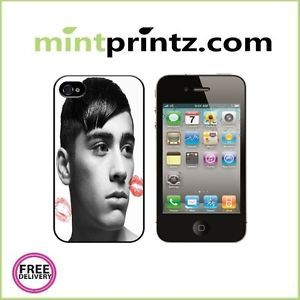 ★ One Direction 1D Zayn Malik Kisses ★ Apple iPhone 4 4S Case Back Cover ★