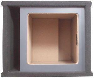"""Kicker Single 10"""" Suqare Solobaric L3 L5 L7 Custom Subwoofer Speaker Sub Box"""