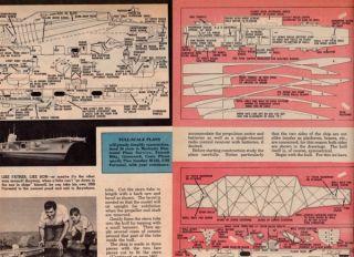 USS Forrestal Model SHIP Plan Original Aircraft Carrier
