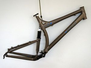 Maverick Durance Full Suspension Mountain Bike Frame Large 140mm Travel