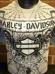 Harley Davidson Mens Tee Shirts  Size Medium