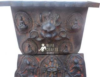 Tibetan Antique Buddha Statue Altar