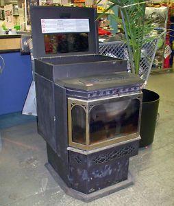 Napoleon Wood Pellet Burning Stove Fireplace Heating Furnace Model NPS40