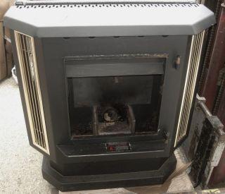 England's Stove Works Corn Wood Burning Burner Pellet Heat Stove w Blower