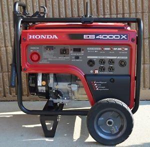 ... Honda EB4000X Portable Industrial 4000 Watt Generator ...