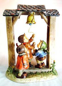 "Hummel Goebel Figurine ""Let's Tell The World"" 487 TM 6 Century Collection"