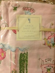 New Pottery Barn Kids Girls Bedding Set Twin Free Shipping