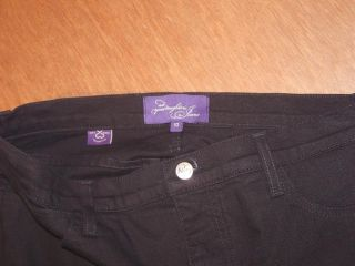 Womens NYDJ not Your Daughters Jeans Capri Pants Size 10 Stretch