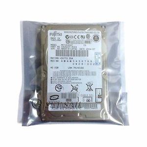"40 GB Internal 2 5"" IDE PATA Fujitsu MHT2040AT Hard Drive Laptop 000004407935"