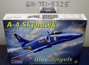 Monogram Model Kit 5310 1 48 A 4 Skyhawk Blue Angel gms Customs Hobby Outlet 2