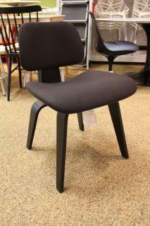 eames molded plywood lounge chair lcw ebony herman miller modern dwr