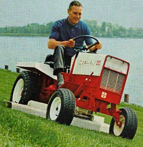 Old Gravely 424 Lawn Mower Garden Tractor 1968 Print Ad Attachments