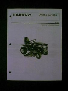 "Murray Riding Mower 52"" Deck s 1257 776010 Parts Manual"