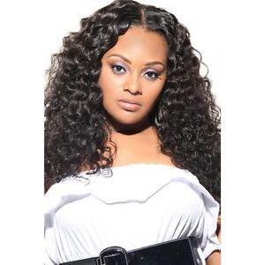 "22"" Virgin Brazilian Remy Hair Curly Deep Wave"