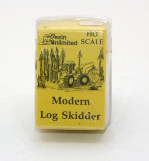 Resin Unlimited 201 Modern Log Skidder Kit 1 87 HO Scale