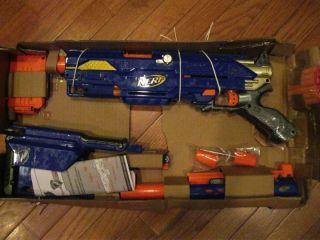 Nerf N Strike Longstrike CS 6 Sniper Dart Gun New in OB