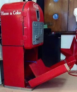 Coca Cola Vendo 27 Coke Machine with Original Stand Complete VMC 27 C 1948