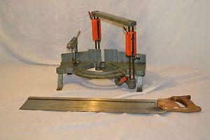 Craftsman Hand Mitersaw Model 881 36303 w Kromedge Cut Miter Saw
