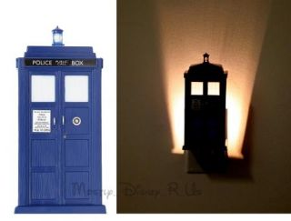 Dr Who Tardis Police Call Box Night Light Phone Booth New in Box