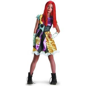 Sally Nightmare Before Christmas Preteen Tween Teen Gothic Rag Doll Costume